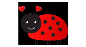 hugabugg ladybug