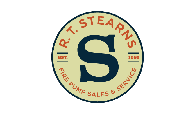 RT Stearns logo